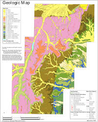 National Park Map Usa by Gmna Resources Usgs Geologic Map Of Long Valley Caldera Ca Usa