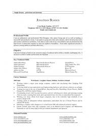 Barista Resume Sample by Examples Of Profile On Resume Samples Of Resumes