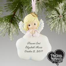 personalized ornaments precious moments