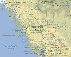 bc map map of bc vancouver island map bc information
