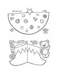 cut out coloring pages christmas coloring pages ideas