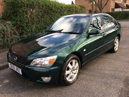 lexus green 65k mileage royal green vgc lexus is200 only 2 owners full main