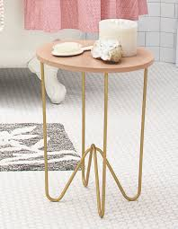 Target Gold Side Table by Happy Mundane Jonathan Lo Nate Berkus X Target Spring 2015