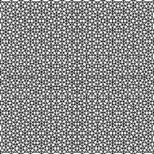 quasi periodic pattern definition patch of the quasiperiodic tiling obtained after three applications