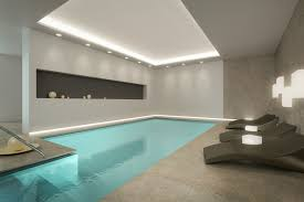 Modern Pool Furniture by 45 Screened In Covered And Indoor Pool Designs