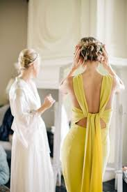 yellow bridesmaid dress best 25 yellow wedding dresses ideas on creative