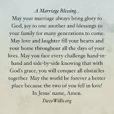 a marriage blessing christian marriage wedding anniversary and