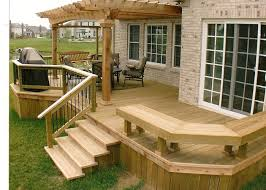 Backyard Deck And Patio Ideas by I Would Like This Deck Outdoor Living Pinterest Decking