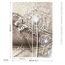 wall mural photo wallpaper xxl white flowers and butterflies picture 10 of 17 picture 11 of 17