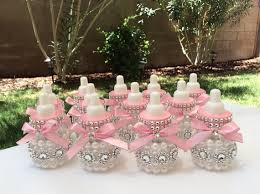 pink and silver baby shower baby bottles are 3 5 decorated with your baby shower theme does