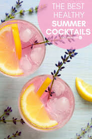 9 low calorie cocktail recipes get healthy u healthy options