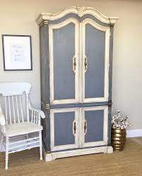 large armoire french provincial style shabby chic wardrobe