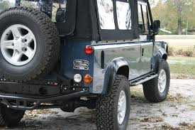 land rover defender 110 convertible rear tire carrier for a drop down tailgate defender source