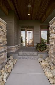 Entryway Sconces Stone Entryway Entry Contemporary With Wood Siding Peelable
