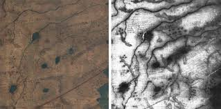 Columbus Marathon Map Uncovering Hidden Text On A 500 Year Old Map That Guided Columbus