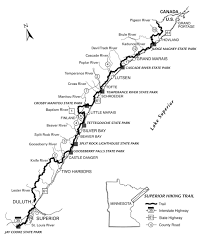 Tettegouche State Park Map by How The 300 Mile Long Superior Hiking Trail Came To Be Lake