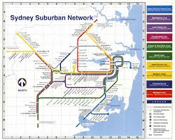 Sydney Subway Map by Northern Beaches Rail Line Transport Sydney