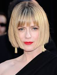 hairstyles blunt stacked sunrise coigney short stacked bob haircut with blunt bangs
