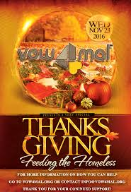 feeding the homeless on thanksgiving blog vow4mal foundation