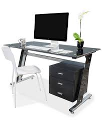 Desktop Computer Desk Thorpe Bk Computer Desk Quick Ship Furniture Macy U0027s