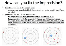 Accuracy Vs Precision Worksheet Answers Successful Lesson On Accuracy Vs Precision Clark Zhang Pulse