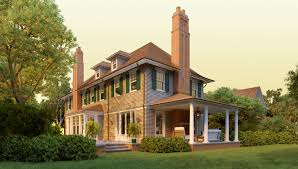 briar patch road shingle style home plans by david neff architect