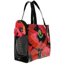flip flop bag ted baker poppy print shopper bag flip flop set medium