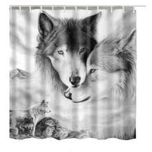 Wolf Curtains Compare Prices On Dog Shower Curtains Online Shopping Buy Low