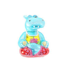 seated hippo ornament msc 276 14 95 hippo mojo gifts