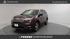 2017 new honda pilot touring awd at round rock honda serving