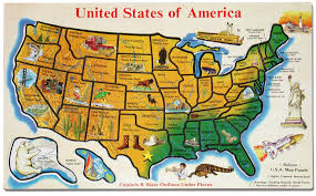 State By State Map Of Usa by Images Of Roadside Attractions Cross The Usa Walk Across America