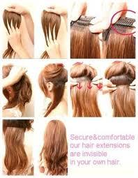 diy hair extensions easy cheap diy hair extension holder cover a foam board in a