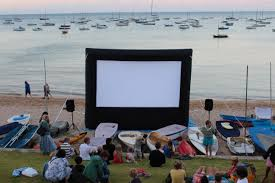 parkview outdoor cinema system for community events