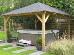2 X 2 Metre Gazebo by Tourist Open Timber Gazebo 3 4x3 4m