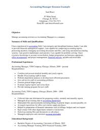 resume objective exles for accounting manager resume accounting manager resume resumes pdf exles free sles
