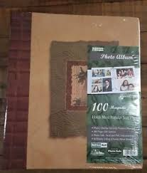 magnetic pages photo album pioneer photo album 100 magnetic pages brand new factory sealed