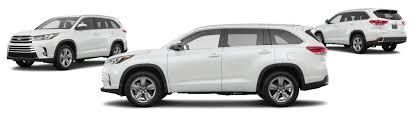 toyota highlander 2017 white 2017 toyota highlander le 4dr suv 2 7l i4 research groovecar