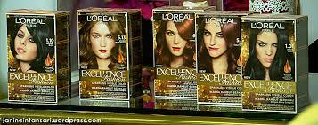 hair color janine intansari