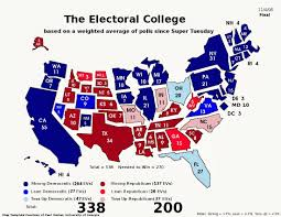Us Election Map by The Broken Electoral College