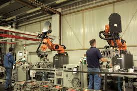 bmw factory robots the dream team international federation of robotics