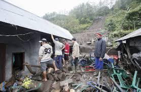 earthquake bali 2017 landslides kill 13 in bali indonesia s disaster mitigation agency