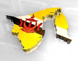 Brunei Map 3d Flag Map Of Brunei U2014 Stock Photo Fambros 3644155