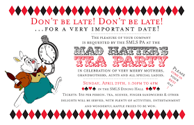 make your own party invitation mad hatter tea party invitations theruntime com