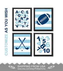 Sports Nursery Wall Decor Sports Nursery Wall Decor Alphabet Nursery Sports Baby Decor