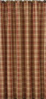 Country Porch Curtains Saffron Shower Curtain Plaid Shower Curtain And Decorating