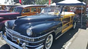 Country Classic Cars - woodie classic cars for show at doheny state park lariat