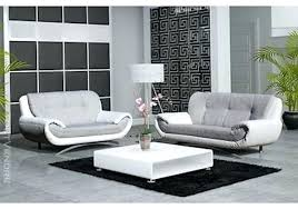 canap design relax canape 2 et 3 places cuir affordable canap sisi with blanc design