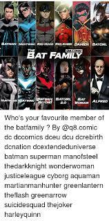 Batman Green Lantern Meme - batman nightwing red hood red robin damien batgirl the qbcomic bat
