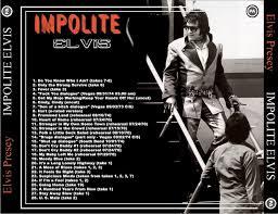 impolite elvis cd elvis new dvd and cds elvis ftd