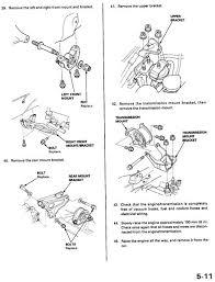 1999 honda civic engine replacing the engine mounts on my honda civic 1999 6 steps